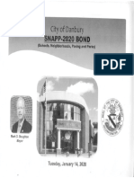City of Danbury SNAPP-2020 Bond proposal