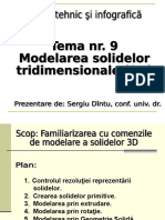 . Modelarea solidelor 3D