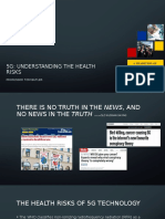 5G_Understanding the Health Risks London 25th March
