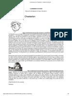 La Navidad, por Chesterton – Catherine L'Ecuyer