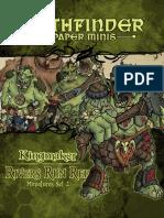 Paper Minis - Kingmaker 05 - Rivers Run Red