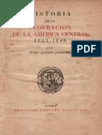historia federacion americacentral-1823-1840