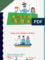 capacitación municipio escolar