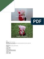 tutorial peppa pig uncinetto schema e spiegazione - manifantasia | 198x149