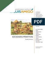 Informe sociedades primitivas