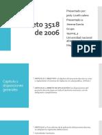 Decreto 3518 de 2006