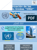 Organización de las Naciones Unidas ''ONU''