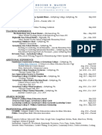 professional resume 2020 version for online