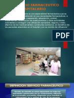EL SERVICIO FARMACEUTICO HOSPITALARIO