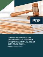 MROSC- Marco Reg. Org. da Soc. Civil