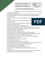 PESV-P-01 Protocolos de Seguridad Vial