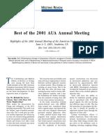 Best_of_AUA_2001_Urol MEETING REVIEW