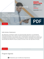 Oracle - Oracle Supply Chain Planning_Overview And Product Strategy (EcoCollateral_20160126_VCP_Overview_and_Strategy_hlcz)