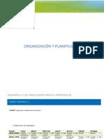 organizacion y planificacion de los tiempos