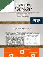 Patrón de prototipado observer