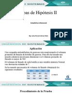 Pruebas de Hipótesis II