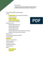 CONTENIDO PARA PROYECTO DE INVERSION