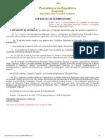 Brasil (998) - Lei 9696-98 Cria CONFEF e CREF