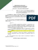 Brasil (2007) - Resolução CNE-CES 7-07