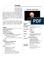 Biografia Completa de Alejandro Jodorowsky