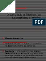 PPT 2.Organizacao e Tecnicas de Negociacoes e Vendas