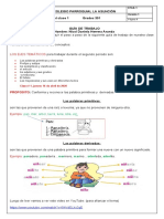 clase 1 español,II periodo