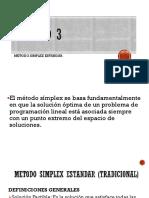Metodos de optimizacion / investigacion de operaciones unitarias
