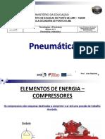 Pneumática (Compressores, Unidade de Conservação e Válvulas)