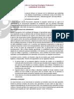 coaching ontologico - Rafael Echeverria