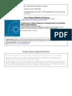 Mech of Adv Mat & Structures