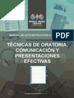 Manual Técnicas de Oratoria, Comunicación y Presentaciones Efectivas CE...