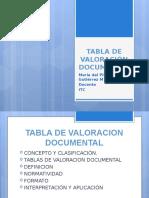 2. VALORACIÓN DOCUMENTAL
