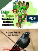 Variedades e Variações linguísticas