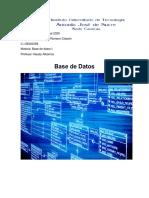 Base de Datos Cesar Romero