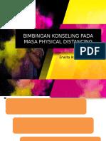 BIMBINGAN KONSELING PADA MASA PHYSICAL DISTANCING