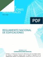DISEÑO DE EDIFICACCIONES INDUSTRIALES MARCO LEGAL 1
