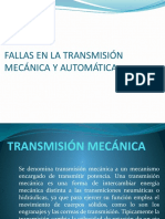 FALLAS EN LA TRANSMISIÓN MECÁNICA Y AUTOMÁTICA.pptx
