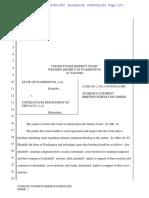 Case 2:19-cv-01059-RAJ-JRC Doc #66 - Summary Judgment Briefing Scheduling Order