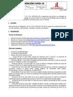 PROTOCOLO DE PREVENCION COVID-19-REV 03