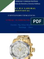 SESIÓN DE CLASE Nº1.DERECHO LABORAL INDIVIDUAL-
