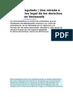 Internet regulado Marianne Diaz