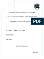 Resumen Cap 7 LIBRO PROBLEMAS ECONÓMICOS DE MEXICO