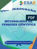 Metodologia da pesquisa - apostila