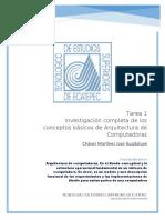 Tarea 1 Inv. (Arquitectura de Computadoras).docx