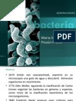 Generalidades de bacterias 2018