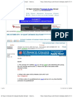 "Preview of ""Dr Raju's Institute of Graduate Studies Abroad -- View topic - GRE OCTOBER 8TH ' 09 QUANT DATABASE SOLUTIONS**************"""