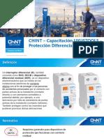 Capacitacion FFVV UYUSTOOLS - 08 Abril 2020 - Proteccion Diferencial