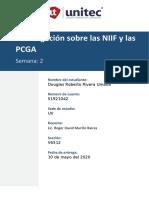 Tarea 2.1 Investigacion Sobre Las NIIF y Las PCGA
