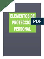 Elementos de Proteccion Para Aplicaciones