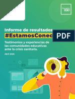 Informe Final Encuesta Estamos Conectados 2020